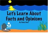 Fact and Opinion - Ocean Theme Smart board lesson