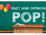 Fact and Opinion POP!