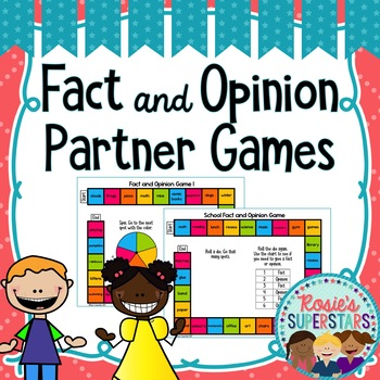 Fact and Opinion Partner Games