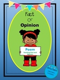 Fact and Opinion Poem