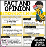 Fact and Opinion - PowerPoint