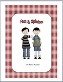 Fact and Opinion Activity 4