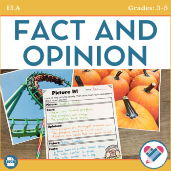 Fact and Opinion Posters and Printables