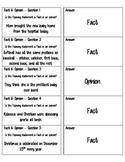 Fact and Opinion Quiz Quiz Trade Cards - Cooperative Learn