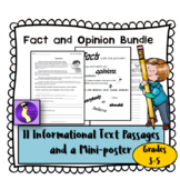Fact and Opinion Printable Worksheets for Literacy