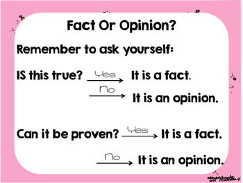 Fact and Opinion Review Presentation