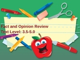 Fact and Opinion Review