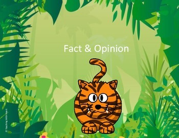 Fact and Opinion Scoot Activity/Task Cards (Upper Elementary)