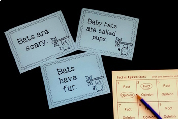 Fact and Opinion Scoot {Growing Bundle}