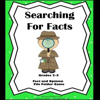 Fact and Opinion:  Searching For Facts