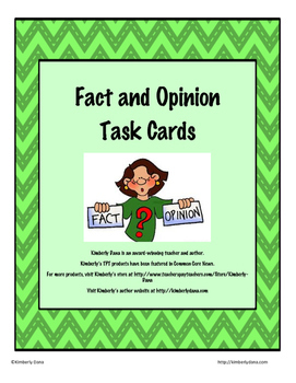 Fact and Opinion Teach and Reach Bundle