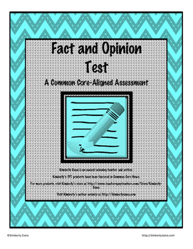 Fact and Opinion Test