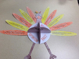 Fact and Opinion Thanksgiving Turkey Craftivity & Fact and