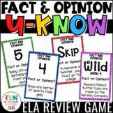 Fact and Opinion Game for Literacy Centers: U-Know