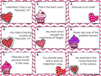 Fact and Opinion Valentine's Day Edition SCOOT and Switcheroo Activity