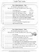 Fact and Opinion Task Cards & Worksheets