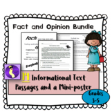 14 Fact and Opinion Worksheets Bundle -- Also Great for Te