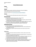 Fact and Opinion detailed lesson plan