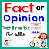 Fact and Opinion Bundle for Upper Elementary