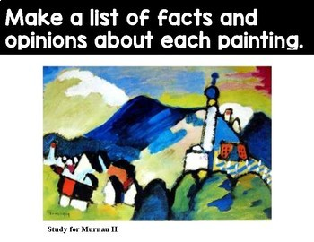 Fact and Opinion with Kandinsky