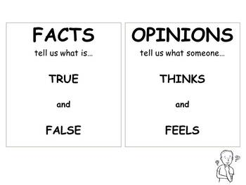 Fact and Opinion (PowerPoint)