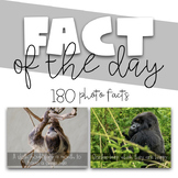 Fact of the Day - Photo Facts | Distance Learning