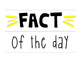 Fact of the Day Lightbox Inserts