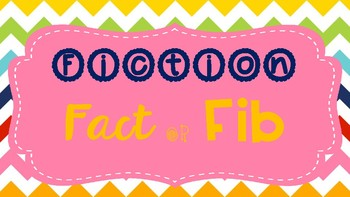 Fact or Fib: Fiction Edition