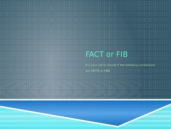 Fact or Fib STAAR Review