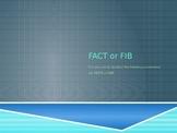 Fact or Fib STAAR Review