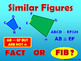 Fact or Fib Similar Figures - Powerpoint Corresponding Sides & Angles