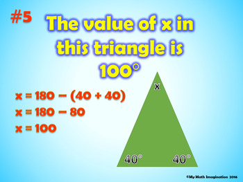 Fact or Fib Triangles Review