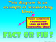 Fact or Fib Types of Lines - Powerpoint Parallel, Intersecting & Perpendicular