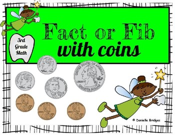 Fact or Fib with Money Digital and Printable Versions