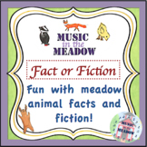 Over In The Meadow On The First Day Of School Animal Fact or Fiction