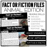 Fact or Fiction Files {Animal Edition}
