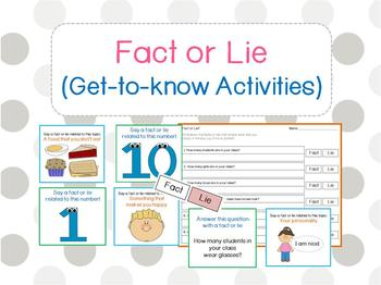 Fact or Fiction Scavenger Hunt (Get to know Ice Breaker)