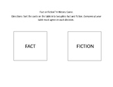 Fact or Fiction!: Social Studies Game
