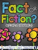 Seasons - Spring Fact or Fiction