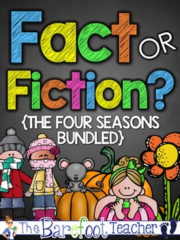 Seasons - Fact or Fiction {The Four Seasons Bundled}