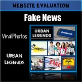Fact or Fiction? Urban Legends, Viral Photos, Fake News