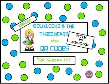 Goldilocks & the Three Bears using QR Codes