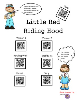Little Red Riding Hood using QR Codes