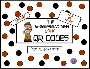 The Gingerbread Man using QR Codes