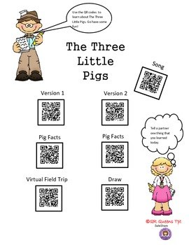 Fact or Fiction with The Three Little Pigs using QR Codes