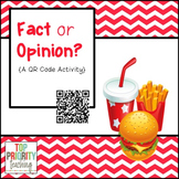 Fact or Opinion - A QR Code Activity