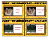 Fact or Opinion Activity Cards