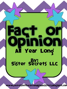 Fact or Opinion All Year Long