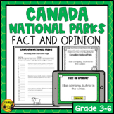 Fact or Opinion? Canadian National Parks