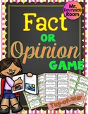 Fact and Opinion Activity Game